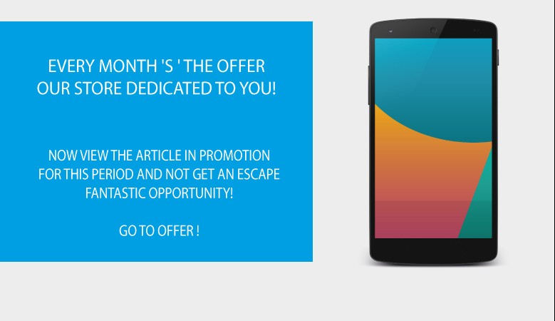 DISCOVER L ' OFFER OF THE MONTH DEDICATED TO YOU