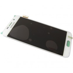 Display touch screen completo originale Samsung SM-G920 Galaxy S6 White GH97-17260B